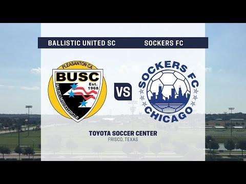 Development Academy Showcase: U-13/14: Ballistic United SC vs. Sockers FC