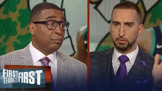 Cris and Nick totally disagree about Kyrie being critical of Brad Stevens | NBA | FIRST THINGS FIRST
