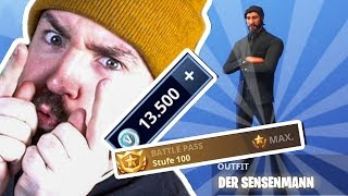 Fortnite SEASON 3 - Level 100 BATTLE PASS gekauft! Was ist drin?
