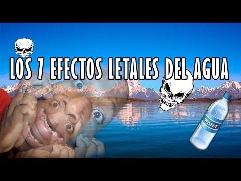 Los 7 Efectos letales del agua | @sensualnegro