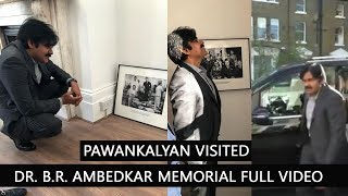 PawanKalyan visited Dr. B.R. Ambedkar Memorial Full Video || JanaSena || Pawan Kalyan