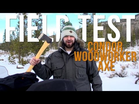 Condor Woodworker Axe   Field Test