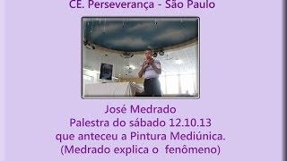 Palestra no CE. Perseverança, São Paulo