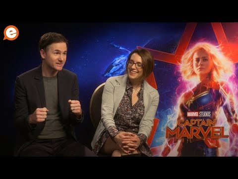 'Captain Marvel' Directors Anna Boden And Ryan Fleck On The Pressures Of Making 'Captain Marvel'