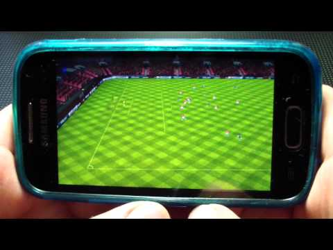 Обзор на Fifa 2012 на android Samsung Galaxy Ace 2