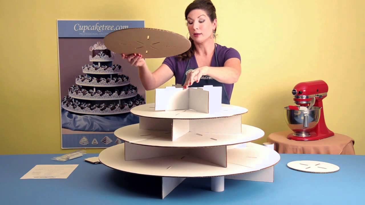 How To Make Cardboard Cake Base