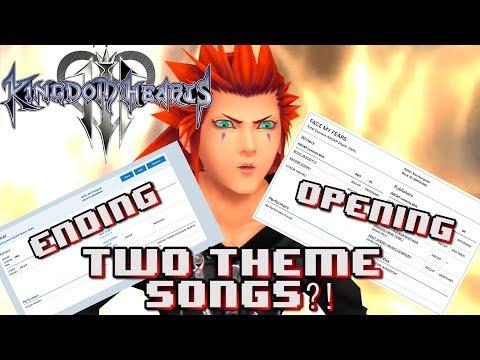 Kingdom Hearts 3 NEW Opening Theme By Utada & Skrillex?! 2 THEME SONGS!?