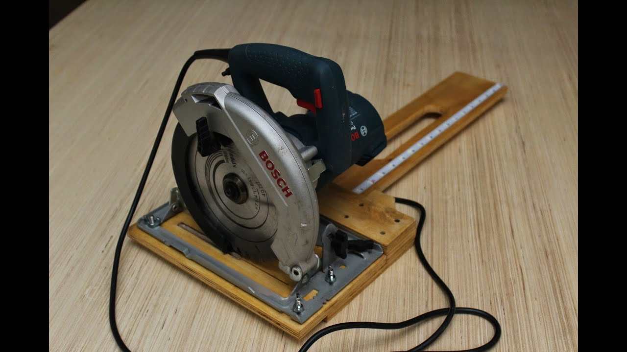 Rip Guide For Circular Saw Circular Saw Rip Cut Jig