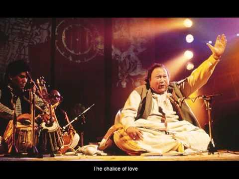 Nusrat Fateh Ali Khan - Sanson Ki Mala Pe - English Subtitles...