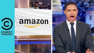 New Yorkers Are Against Amazon | The Daily Show With Trevor Noah