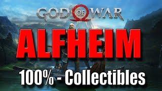 GOD OF WAR - ALFHEIM : 100% Collectibles