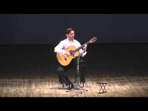 José María Gallardo Del Rey At 'Guitar Virtuosos' 2013 Festival - 4 Concert Etudes
