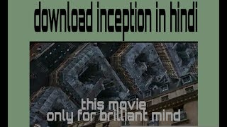 inception movie download in hindi 720p