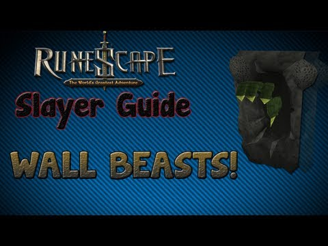 """Runescape 07″ – Slayer guide #12: Wall Beasts!"