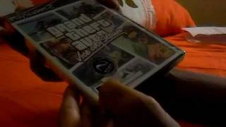 Unboxing do jogo GTA Vice City Stories para PS2