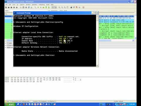 TCP/IP Lesson: Subnet Mask, ARP and DNS Part 1