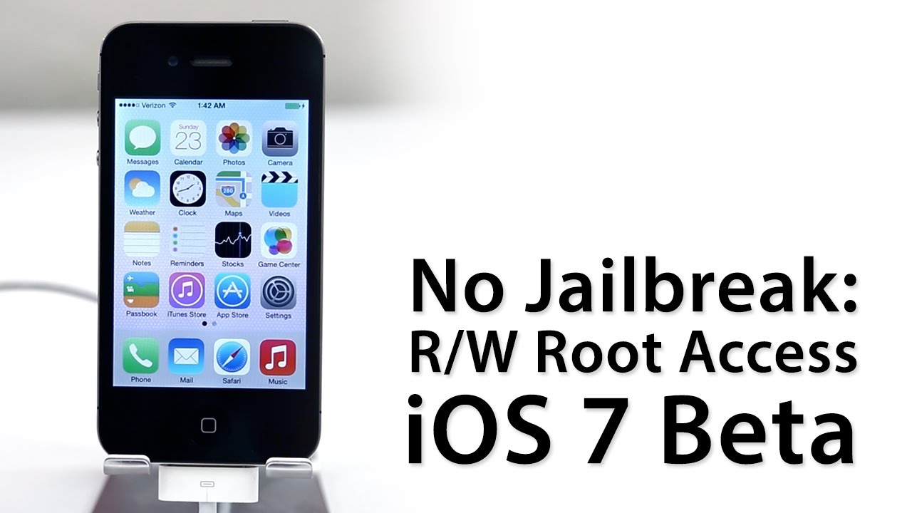 No Jailbreak Required: How To Gain Full Root Access On ...