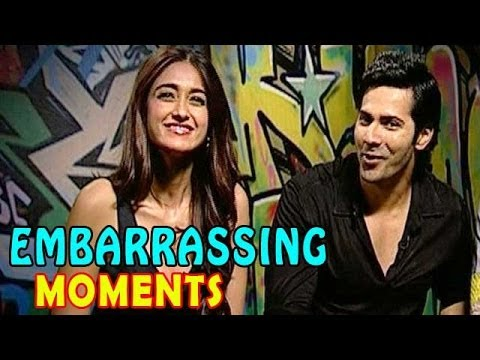 Varun Dhawan & Ileana D'Cruz embarrassing moments