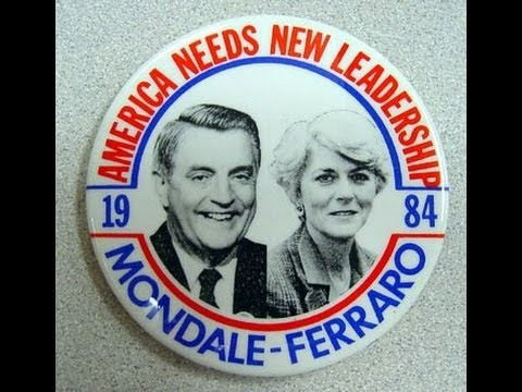 July 12, 1984 - Walter Mondale Selects Geraldine Ferraro as Running Mate