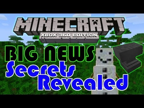 SECRETS FOUND inside of minecraft xbox 360 edition! - Title update/general news | HD
