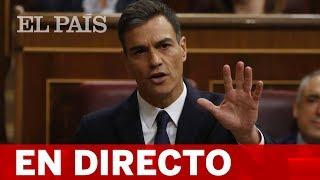 Directo | Pedro Sánchez, en la sesión de control al Gobierno