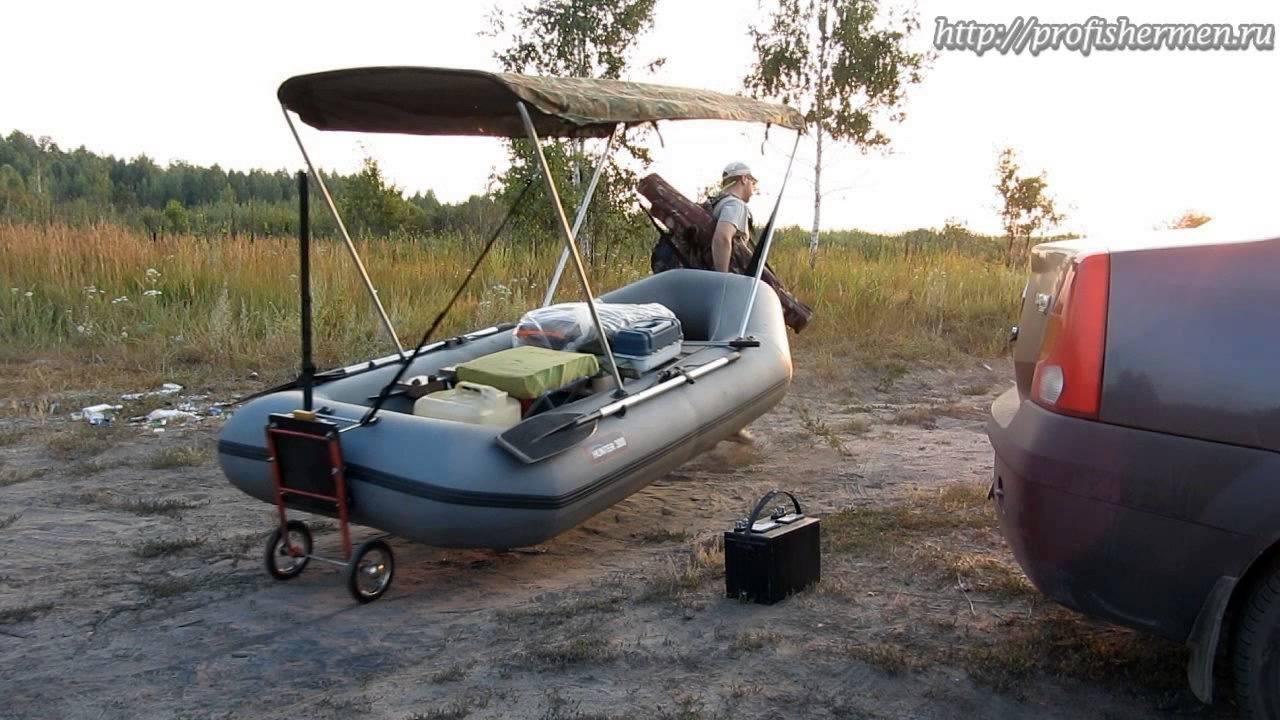Колеса для лодки из пвх