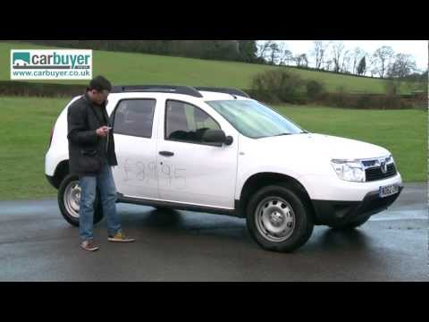 Dacia Duster SUV 2013 review - CarBuyer