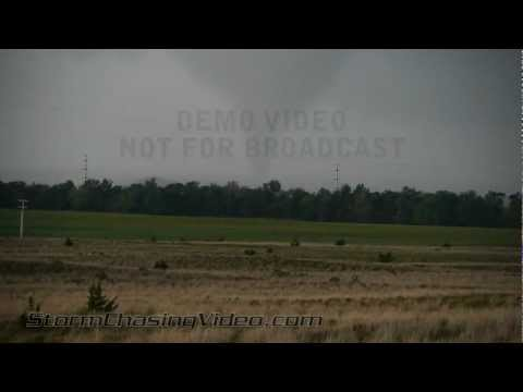 4/9/2012 Woodward, OK Large Tornadoes and Hail