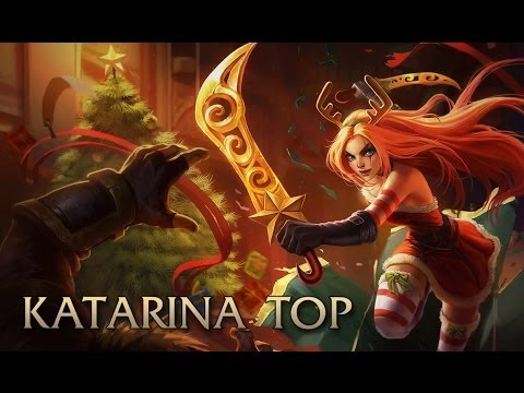 League Of Legends - Katarina Top - Full Game Commentary video