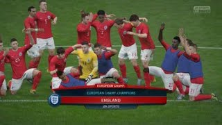 England Win Euro Championship Cup!