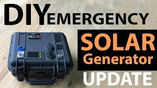 DIY Emergency Solar Generator 18650 Battery Update