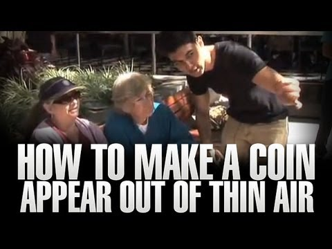 How To Make A Coin Appear Out Of Thing Air For Two Lovely Mature Ladies