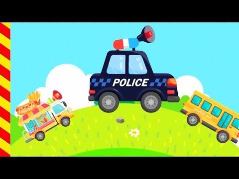 Мультик про полицию. Полицейская машина для детей. Машинки детям 5 лет. Полиция с мигалками погоня