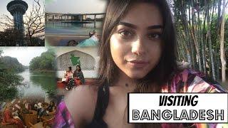 I WENT TO BANGLADESH! Family| Food diary | Dhaka | Chittagong| Happiness #Vlog9 ♡ | Tashfia Mahmud