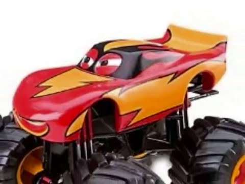 Monster Truck Disney Cars 2 Juguetes, Dibujos Animados Para Niños