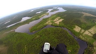 Powered paragliding in Karelia