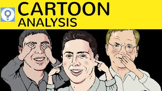 Cartoon Analysis - How to write a cartoon analysis / description - Cartoons analysieren in Englisch