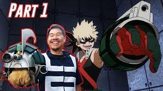 How Bakugo's Sweaty Quirk Works (Building Explosive Grenadier Bracers)   My Hero Academia Month!!!