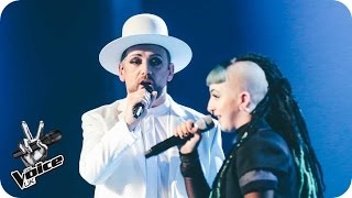 Download Lagu Boy George and Cody Frost perform 'Imagine': The Live Final - The Voice UK 2016 Gratis STAFABAND