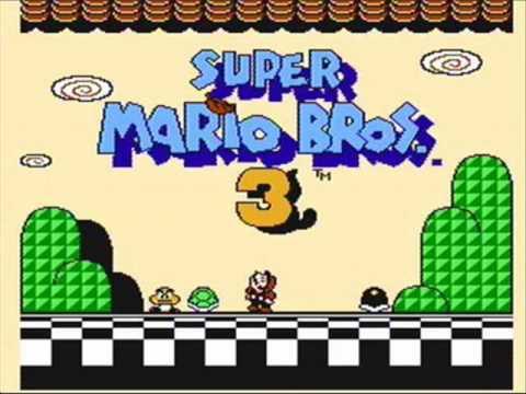 Super Mario Bros 3 Mapa Música de Super Mario Bros