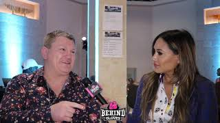 """RICKY HATTON IN LAS VEGAS """"I WAS WORRIED FOR HIS HEALTH!"""" TALKS FURY, REFLECTS ON HIS FIGHT IN VEGAS"""