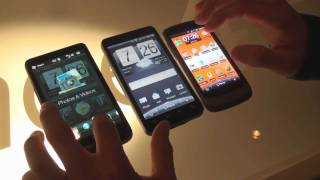 HTC EVO 4G vs. HTC HD2
