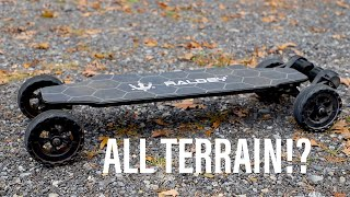 Raldey Carbon AT! | All Terrain Electric Skateboard