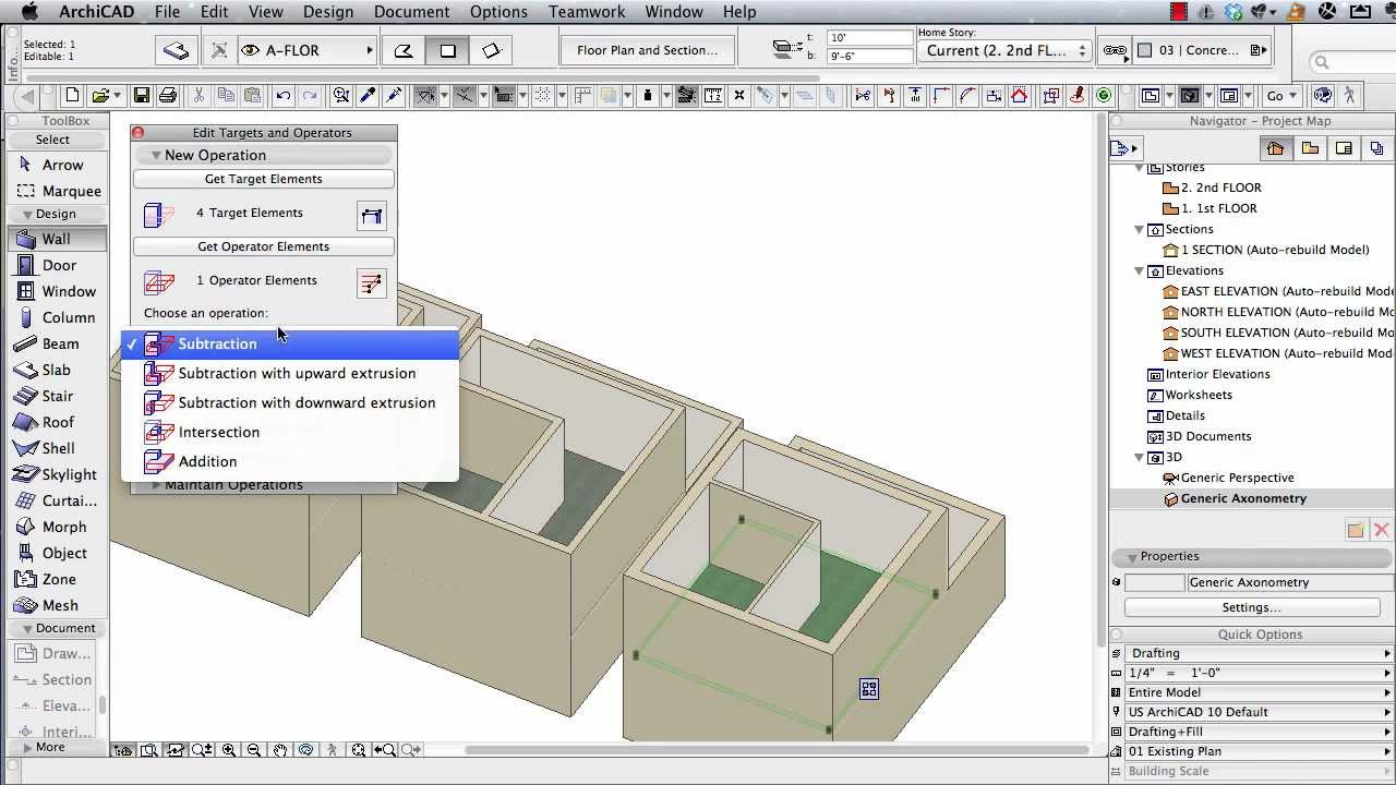 Archicad Tutorial Multi Story Buildings Basic