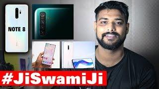 Redmi Note 8 vs Realme 5 Pro, Realme X Camera, Note 10 Plus vs S10 Plus - #JiSwamiJi