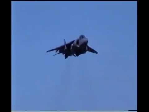 Harrier Crash/Ditch at Lowestoft Air Festival 2002