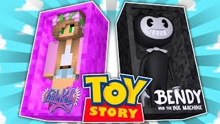 Minecraft TOYSTORE : BENDY DOLL RUINS THE TOYSTORE! w/LittleKellyandCarly,TinyTurtle(CustomRoleplay)