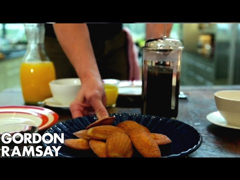 Lemon & Poppy Seed Madeleines - Gordon Ramsay