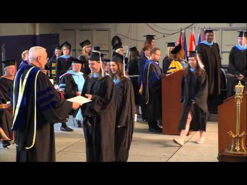 University of St. Thomas Graduate Commencement 2013 HD