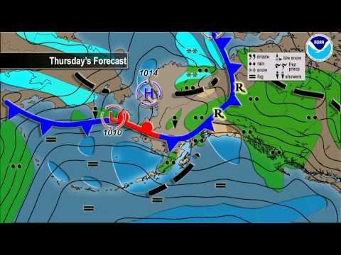 June 10, 2015 Alaska Weather Daily Briefing